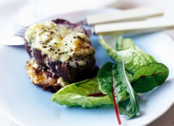 Steak with Blue cheese butter and Bubble and Squeak fritters