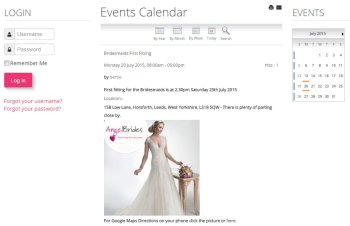 Our Wedding Website - Northern Living